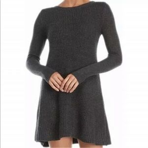 Romeo + Juliet a grey Sweater Dress
